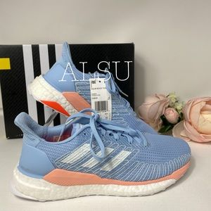 Adidas Solar Boost Blue Canvas Low Top AUTHENTIC